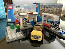 Lego City 8404 Public Transport Station sets from manuals 1 and 4