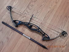 "Hoyt Contender Elite Compound Bow RH Competition Target 50#-60# 29"" EXTRAS REST"