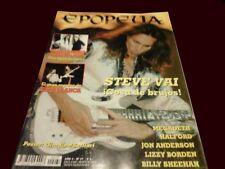 Steve Vai - Epopeya # 37 Magazine Argentina