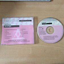 MADONNA - RAY OF LIGHT -V RARE EU NUMBERED PR CD ALBUM IN CUSTOM SLEEVE MADAME X