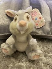 DISNEY Bambi's THUMPER soft plush toy Rabbit  Disney Store authentic With Tag