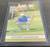 SCOTTIE SCHEFFLER ROOKIE CARD RC GOLF 🔥 RARE!