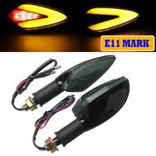 2Pcs Motorcycle Neon LED Turn Signal Indicator Light DRL Brake Lamp Universal