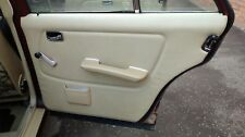 FULL SET Mercedes w123 Door Cards Skins Trim Cream Beige 230E 200E E-Class