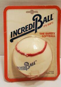 Easton IncrediBall Training Safety Softball Regulation Size Nylon Cover Vintage