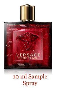 Versace Eros Flame Eau de Parfum for Men 10 ml Sample Spray Travel Atomiser