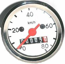 Speedometer panel 80 KM/H ORG Euro Dia 48 mm competible with modified bikes/Car