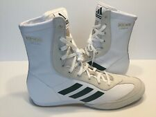 Adidas Box Hog x Special Men's Boxing Shoes White Green BC0354 New Size 8.5