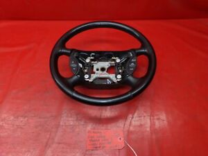 94-98 FORD MUSTANG LX GT COBRA SALEEN OEM BLACK LEATHER WRAPPED STEERING WHEEL