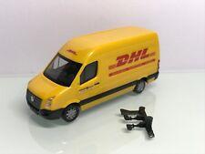 Herpa Deutsche Post DHL VW Crafter Kastenwagen Hochdach (Mo2660)