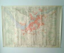 CANADIAN TOPOGRAPHICAL MAPS Lot of 18 Vintage Maps 1960s