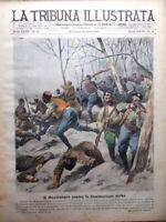 La Tribuna Illustrata 30 Marzo 1919 Montenegro Serbia Dalmazia Flotta Tedeschi