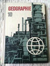 DDR Lehrbuch - Geographie Klasse 10 Vorbereitungsklasse - Oberschule - 1970