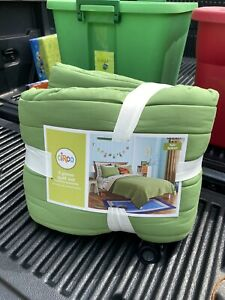Circo 3pc Green Quilt Set Full/queen