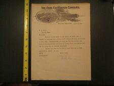 Ohio Cultivator Company Bellevue Ohio OH 1910 Letterhead 204