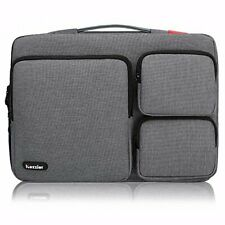 13-13.3 inch Thri-Sidepocket Laptop Sleeve Electronic Accessories Storage Bag