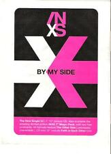 "INXS By My Side UK magazine ADVERT / mini Poster 11x8"""
