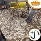 Dog Seat Cover for Trucks with Mesh Window 100% Waterproof Pet XL Camouflage