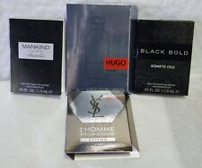 KENNETH COLE MANKIND+BLACK BOLD+HUGO+YSL ULTIME ALL 1.2 ML LOT OF '4