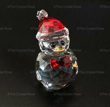 RARE Retired Swarovski Crystal Christmas Rocking Penguin 5289413 Mint Boxed