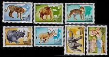HUNGARY   SCOTT# C427A-C427G  MNH  ANIMAL TOPICAL/ZOOLOGY KALMAN KITTENBERGER