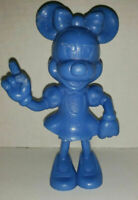 "Vintage USA Marx Walt Disney Prod Blue Minnie Mouse plastic figure  6.25"" 1971"