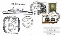 Polarpost: REGINA MARIS - Nordkap-Spitzbergen-Island-Reise - 1971