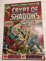 CRYPT OF SHADOWS #7 (1973) Marvel Comics G/VG