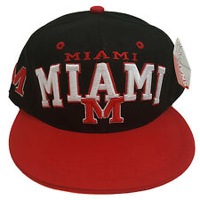 Miami Arch Style Black/Red Two Tone Snapback