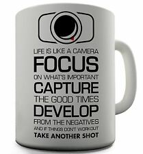 Camera Funny Design Novelty Gift Tea Coffee Office Mug