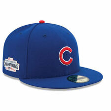 Chicago Cubs New Era 59FIFTY 2016 World Series Champions Patch Cap Hat Fitted