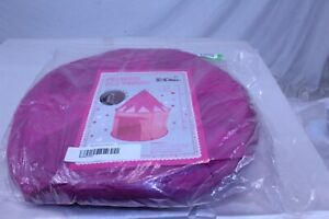 Toddler Princess Play Tent Castle with Glow in The Dark Stars Color Pink