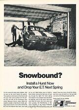 1968 Hurst Camaro Chevrolet - Original Advertisement Print Art Car Ad J599