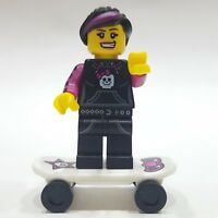 """LEGO Collectible Minifigure #8827 Series 6 """"SKATER GIRL"""" (Complete)"""