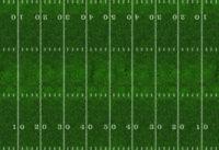 O Semi-Scale Football Field Model Train Scenery Sheets – Train Layout Feature
