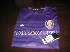 ORLANDO CITY PRE MATCH POLY TRAINING SHIRT XL NEW WITH TAGS.