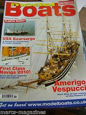 MODEL BOATS NOVEMBER 2010 USS KEARSARGE AMERIGO VESPUCCI SEA QUEEN MIKE BEESLEY