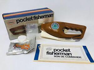 Vintage 1972 Popeil's Pocket Fisherman Spin Casting Outfit w/ Original Box TT20