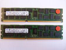 2x 8GB Samsung M393B1K70CH0-CH9 16GB DDR3 1333MHz PC3-10600R PC Server RAM