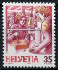 Switzerland 1986-9 SG#1107, 35c Post, Past & Present Definitive MNH #D45643