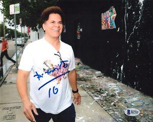 ROMERO BRITTO SIGNED AUTOGRAPHED 8x10 PHOTO NEO POP ART PAINTER RARE BECKETT BAS