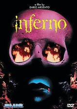 Inferno: Dario Argento DVD (Blue Underground) MASTERPIECE Giallo NEW/SEALED OOP