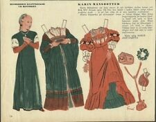 Catherine Karin Mansdotter Vintage 1952 Paper Doll Queen of Sweden King Eric XIV