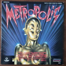 LASERDISC Movie: METROPOLIS - Freddy Mercury, Adam Ant - Collectible - ART/MUSIC