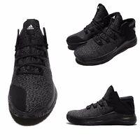 super popular bb17e ec53c Adidas Rise Up Grey Black White Men Basketball Shoes Sneakers BB8244