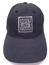 "FORD 2017 SUPER DUTY TRUCK dark gray adjustable cap / hat ""Built Ford Tough"""