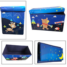 Foldable Kids Large Storage Toy Box Boys Girls Books Chest Clothes Organizer