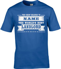 Propietario Hombre Camiseta Personalizada Idea Regalo Mejor Divertido Tutor 3XL
