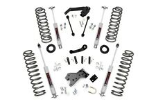 "Rough Country 4"" Lift Kit w/N3 Shocks, 07-18 4Dr Jeep JK Wrangler Unlimited 681S"