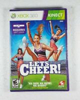Let's Cheer (Microsoft Xbox Kinect 360, 2011) Brand New Sealed - Free Shipping!